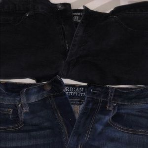 Two pair of shorts